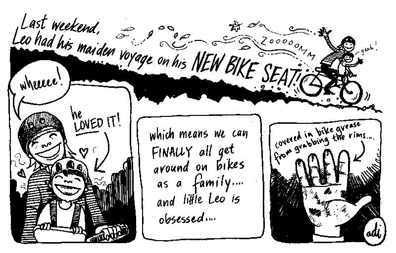 Adi Sydney comic